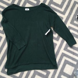 NWT Ribbed Sweater